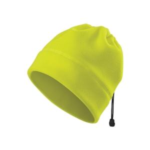 Fleecová čiapka Adler HV Practic, fluorescenčná žltá