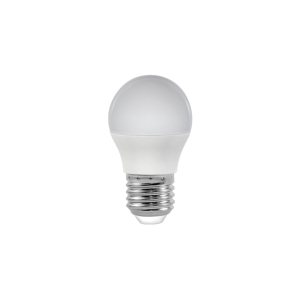 LED žiarovka G45, štandardný tvar E27 5W
