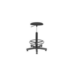 Laboratórna stolička Nowy Styl Goliat, čierna