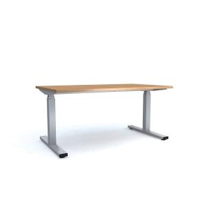 Pracovný elektrický stôl Nowy Styl Easy Space E-model, 140 x 80 cm javor