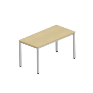 Pracovný stôl Nowy Styl Easy Space, 4 nohy, 140 x 70 cm, svetlý piesok