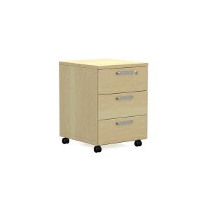 Mobilný kontajner Nowy Sty Easy Space, 3 - zásuvky 60 x 60 x 43cm, svetlý piesok