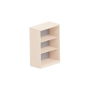 3-policová otvorená knižnica Easy Space Nowy Styl,80x44,5x115,5cm, svetlý piesok