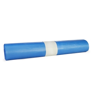 Vrecia na odpad Novplasta, 120 l, 70 x 110 cm, modré 25 kusov