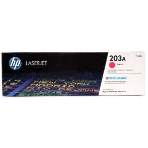 HP CF543A 203A Laser Toner Cartridge  Magenta