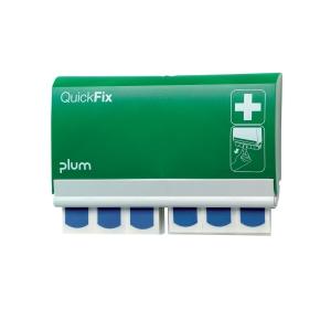 Dávkovač náplastí Plum QuickFix 5503 a 2 x 45 kusov detekovateľných náplastí