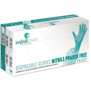 Jednorazové nitrilové rukavice Innfinitt Touch, nepudrované, veľkosť M, 100 ks