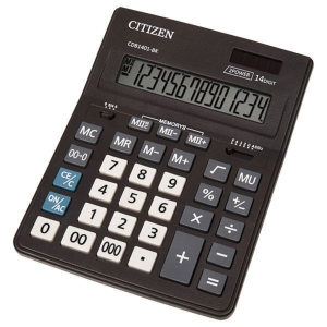 Stolová kalkulačka CITIZEN CDB1401 Business Line čierna, 14-miestna