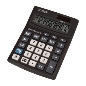 Stolová kalkulačka CITIZEN CMB1201 Business Line čierna, 12-miestna