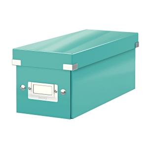 Krabica na CD Leitz Click&Store, ľadovo modrá