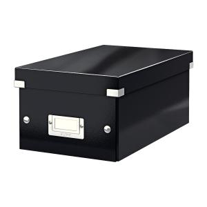 Krabica na DVD Leitz Click&Store, černá