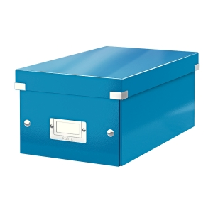 Krabica na DVD Leitz Click&Store, modrá