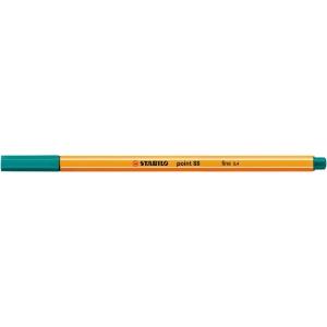 Liner Stabilo Point 88, tyrkysový, 0,4 mm