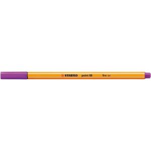 Liner Stabilo Point 88, fialový, 0,4 mm