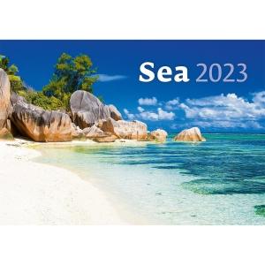 Sea - mesačné medzinárodné kalendárium, 14 listov, 45 x 31,5 cm