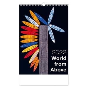 Cafe - mesačné medzinárodné kalendárium, 14 listov, 31,5 x 45 cm