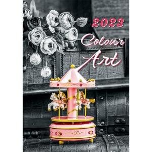 Gardens - mesačné medzinárodné kalendárium, 14 listov + samolepky, 30 x 30 cm