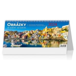Obrázky zo sveta - české/slovenské týždenné stĺpcové kalendárium, 60 + 2 strán