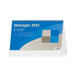 Manager Europe - české/slovenské týždenné stĺpcové kalendárium + Aj + Nj