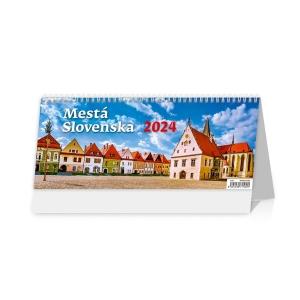 Mestá Slovenska - slovenské dvojtýždňové riadkové kalendárium, 30 + 2 strán
