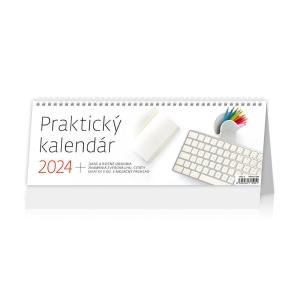 Praktický kalendár - slovenské týždenné stĺpcové kalendárium, 64 + 2 strán