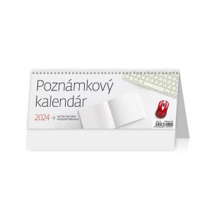 Poznámkový kalendár - slovenské týždenné stĺpcové kalendárium, 56 + 2 strán