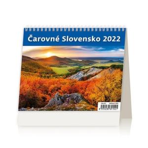 MiniMax Čarovné Slovensko - slovenské týždenné riadkové kalendárium, 56 +2 strán