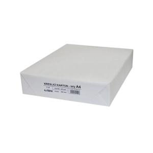 Kresliaci kartón A4 220 g/m², balenie 200 listov