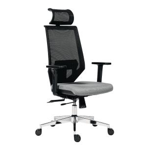 Manažérska stolička Antares Edge, sivá