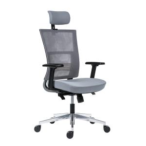 Kancelárska stolička Antares Next, sivá