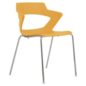 Konferenčná stolička Antares Aoki, oranžová