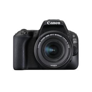 CANON fotoaparát EOS 2000D +EF-S 18-55 IS II , čierny