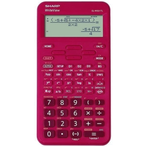 SHARP ELW531TL vedecká kalkulačka, červená