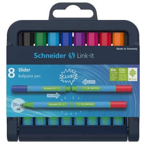 Sada Schneider Link-It Slider, 8 ks pero, mix farieb