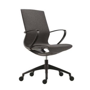Antares Vision kancelárska stolička, čierna & sivá