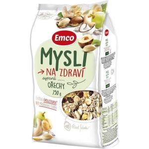 Emco müsli sypané, oriešky, 750 g