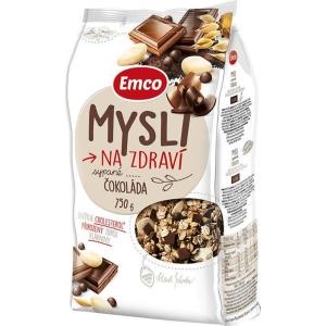Emco müsli sypané, čokoláda, 750 g