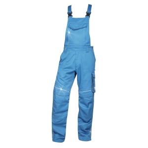 Pracovné nohavice s náprsenkou ARDON® URBAN SUMMER, veľkosť 50, modré