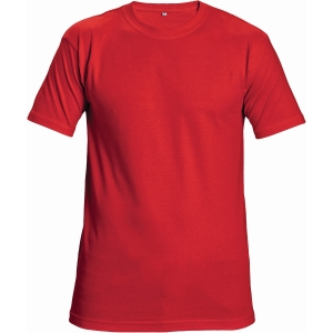 Tričko ČERVA TEESTA, veľkosť XL, červené