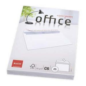 ELCO C6 OFFICE obálky 114x162, 25 ks v balení