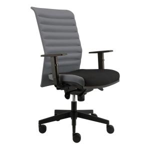 Alba Reflex VIP kancelárska stolička, sivá