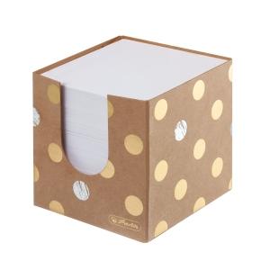Kocka Herlitz Pure Glam 9 x 9 x 9 cm, kartónová krabička