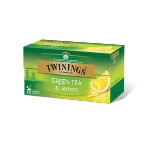 Twinings  zelený čaj citrón 25x1.6g