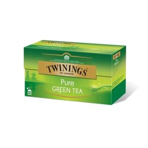 Twinings zelený čaj pure 25x2g