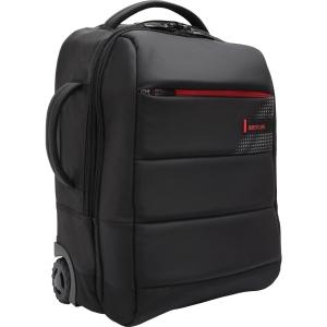 """Dizajnový 15,6"""" BESTLIFE batoh a kufrík v jednom s konektormi, čierny"""
