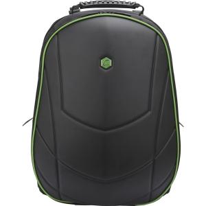 """Dizajnový batoh BESTLIFE 17"""" špeciálne navrhnutý pre hráčov, čierno-zelený"""