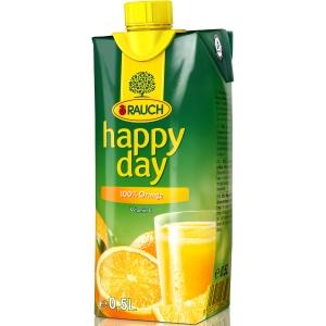 Happy Day pomaranč 0.5l