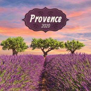 Poznámkový nástenný kalendár PRESCO Provence 2020, voňavý