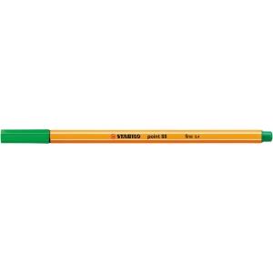 Liner Stabilo Point 88, 0,4 mm, zelený