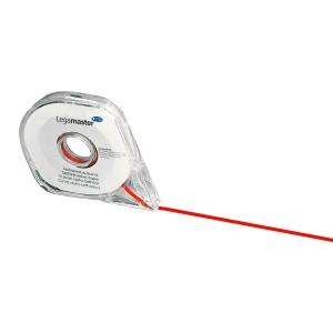 Deliaca páska Legamaster, 2,5 mm x 16 m, červená